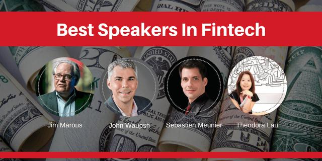 best speakers in fintech