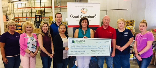 community service by Bangor federal credit union
