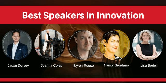 best speakers in innovation