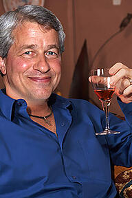 JPMorganChase CEO Jamie Dimon has a lot to cheers about. (Photo by Jed Egan)