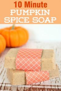 Pumpkin Spice Soap via Happiness is Homemade