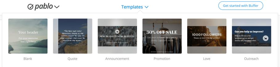 Pablo-templates