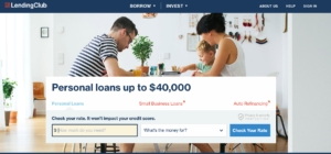 Fintech lender lending club