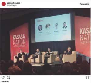 This instagram post is from our live banking event
