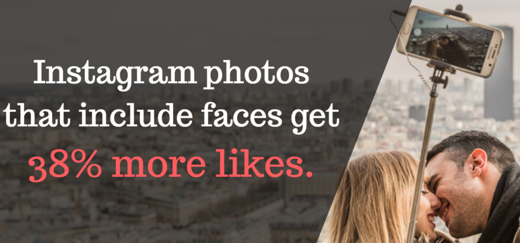 instagram strategy is to include more faces
