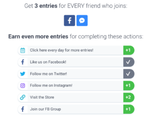 KingSumo allows for viral social media contests