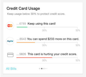 improve your credit by tracking credit card utilization