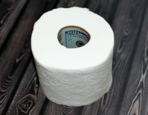money hidden in toilet paper roll