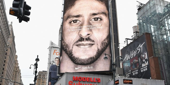 Nike takes a risk making Colin Kaepernick the face of their corporate social responsibility campaign.