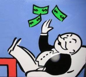 Monopoly Man - Rich Banker