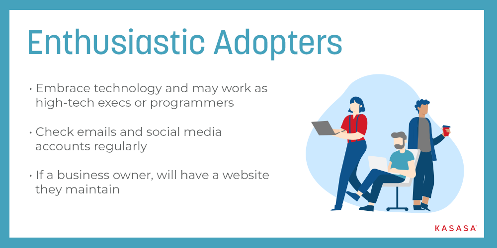 Digital Immigrants - Enthusiastic Adopters