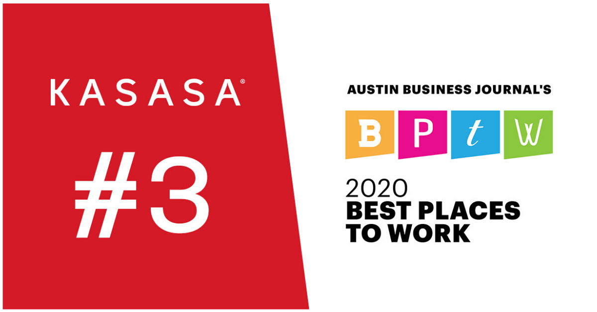 Austin Business Journal Best Places to Work - Kasasa